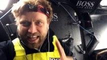 D71 : Alex Thomson's reaction after his record / Vendée Globe