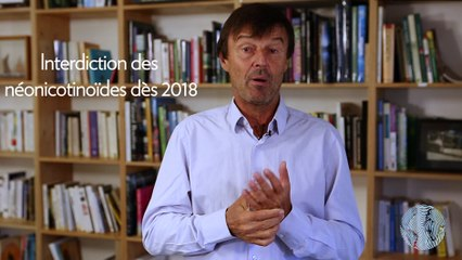 Les voeux de Nicolas Hulot