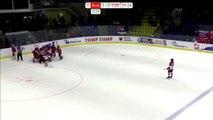 Bagarre générale entre deux équipes de hockey féminines