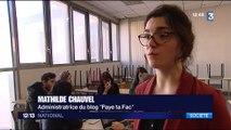 """""""Paye ta fac"""" : un blog dénonce le sexisme à la fac"""