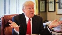 Donald Trump critica a NATO e a política migratória de Angela Merkel, saúda o Brexit e estende a mão à Rússia