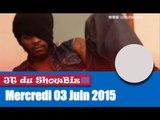 UBIZNEWS / Le JT du Showbiz du Mercredi 03 Juin 2015 avec Dj Arafat et Medhy Custos