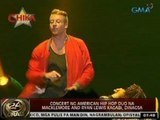 24 Oras: Concert ng American Hip Hop Duo na Macklemore and Ryan Lewis kagabi, dinagsa