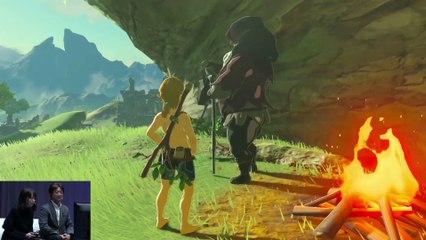 Gameplay Walkthrough in Television Mode de The Legend of Zelda : Breath of the Wild