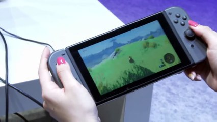 The Legend of Zelda : Breath of the Wild : Nintendo Switch - Portable Mode Switch to TV