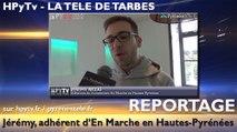 HPyTv Tarbes | Jérémy adhérent d'En Marche en Hautes Pyrénées (13 janvier 2017)