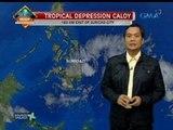 Bagyong Caloy, inaasahang magla-landfall sa Surigao