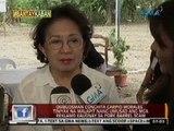 Ombudsman Morales, tiniyak na malapit nang umusad ang mga reklamo kaugnay sa pork barrel scam