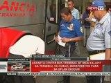 Araneta Center Bus Terminal at mga kalapit na terminal sa Cubao, ininspeksyon para sa Oplan Exodus