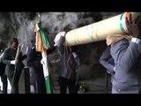 RTI1/Religion-57ème pèlerinage militaire : prière à la grotte