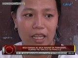 24 Oras: Mga kaanak ng mga nasawi sa walang habas na pamamaril, humingi ng saklolo sa Pangulo