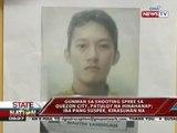 Gunman sa shooting spree sa Quezon City, patunoy na hinahanap