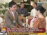 UB: Emil Sumangil, kabilang sa binigyan ng Gawad Justice Felix Angelo Bautista Award