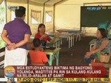 UB: Mga estudyanteng biktima ng Yolanda, magtitiis pa rin sa kulang-kulang na silid-aralan at gamit