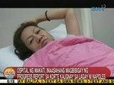 UB: Ospital ng Makati, inaasahang magbibigay ng report kaugnay sa lagay ni Napoles