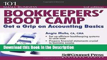 Download [PDF] Bookkeepers  Boot Camp: Get a Grip on Accounting Basics (101 for Small Business)