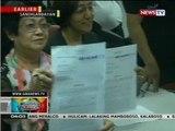 Napoles, Enrile, Revilla, Estrada at ilan pang personalidad, sinampahan ng kaso kaugnay ng PDAF scam
