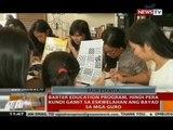 Barter Education Program, hindi pera kundi gamit sa eskwelahan ang bayad sa mga guro