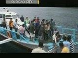 51 pasahero, nailigtas mula sa bangkang nabutas sa Surigao City