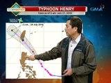 UH: Typhoon Henry, hindi inaasahang magla-landfall