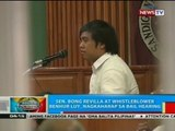 Sen. Bong Revilla at whistleblower Benhur Luy, nagkaharap sa bail hearing