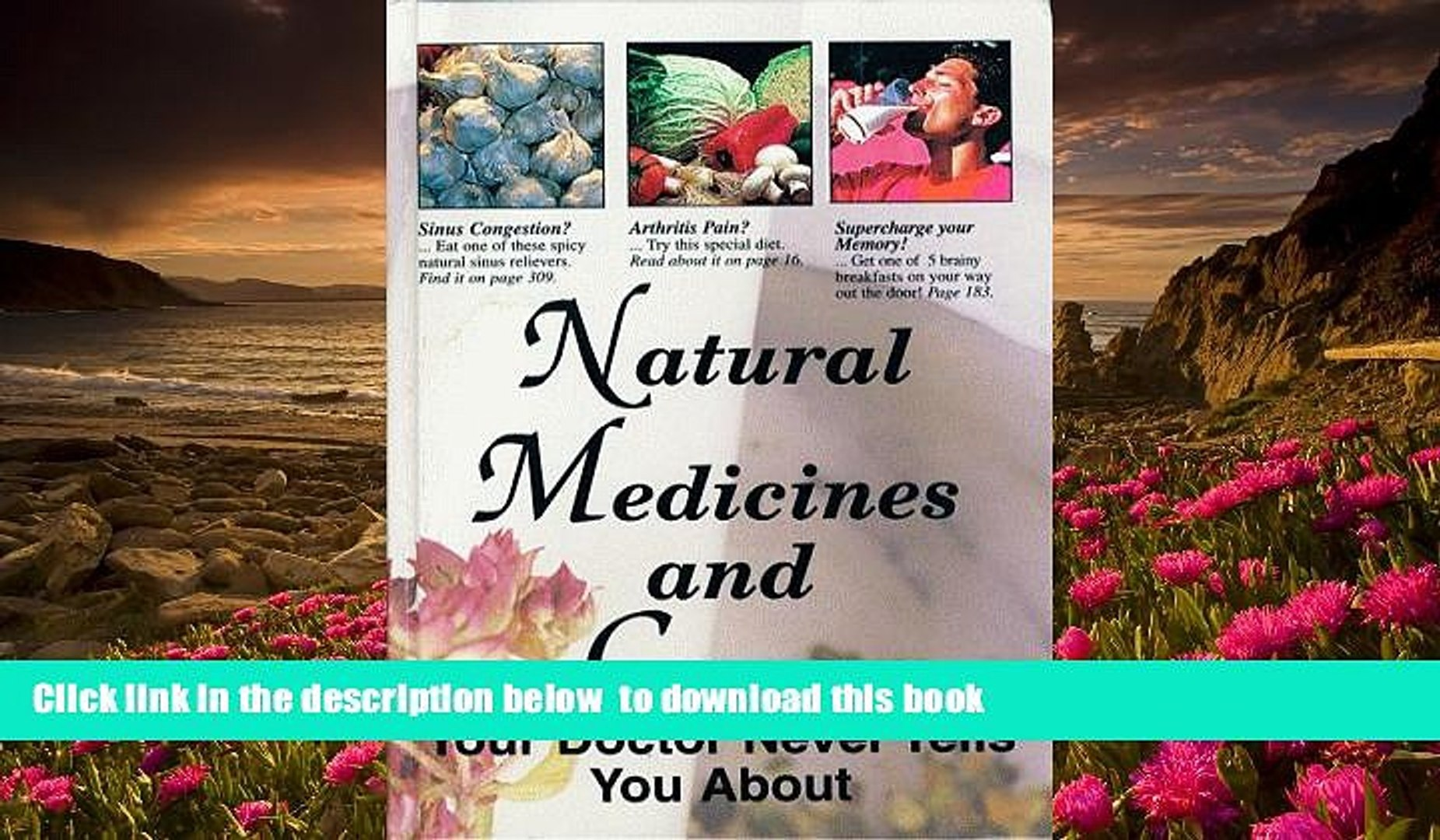 Read Online Natural Medicines and Cures Your Doctor Never Tells You About  FC&A For Ipad