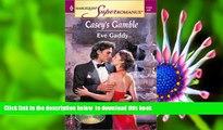 PDF [DOWNLOAD] Casey s Gamble: Raising Cane, Book 1 (Harlequin Superromance, No 1122) TRIAL EBOOK