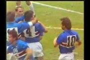 09.11.1988 - 1988-1989 UEFA Cup Winners' Cup 2nd Round 2nd Leg UC Sampdoria 3-1 FC Carl Zeiss Jena