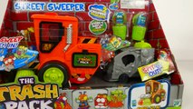 Street Sweeper Vehicles!! The Trash Pack Toys Playset for Kids
