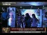 24 Oras: Kapuso celebrities, pinasaya at pinakilig ang fans sa mall shows at guestings