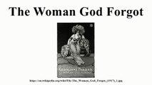 The Woman God Forgot Trailer