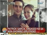 UB: Patrick Garcia, engaged na sa non-showbiz girlfriend