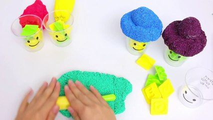 Play & Learn English Alphabet Colors Clay Poam & Pudding DIY