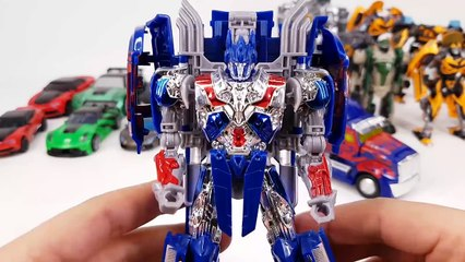 Transformers 4 AOE Deluxe Voyager Class Optimus Prime Bumblebee 18 Vehicle Truck Robot Car Toys