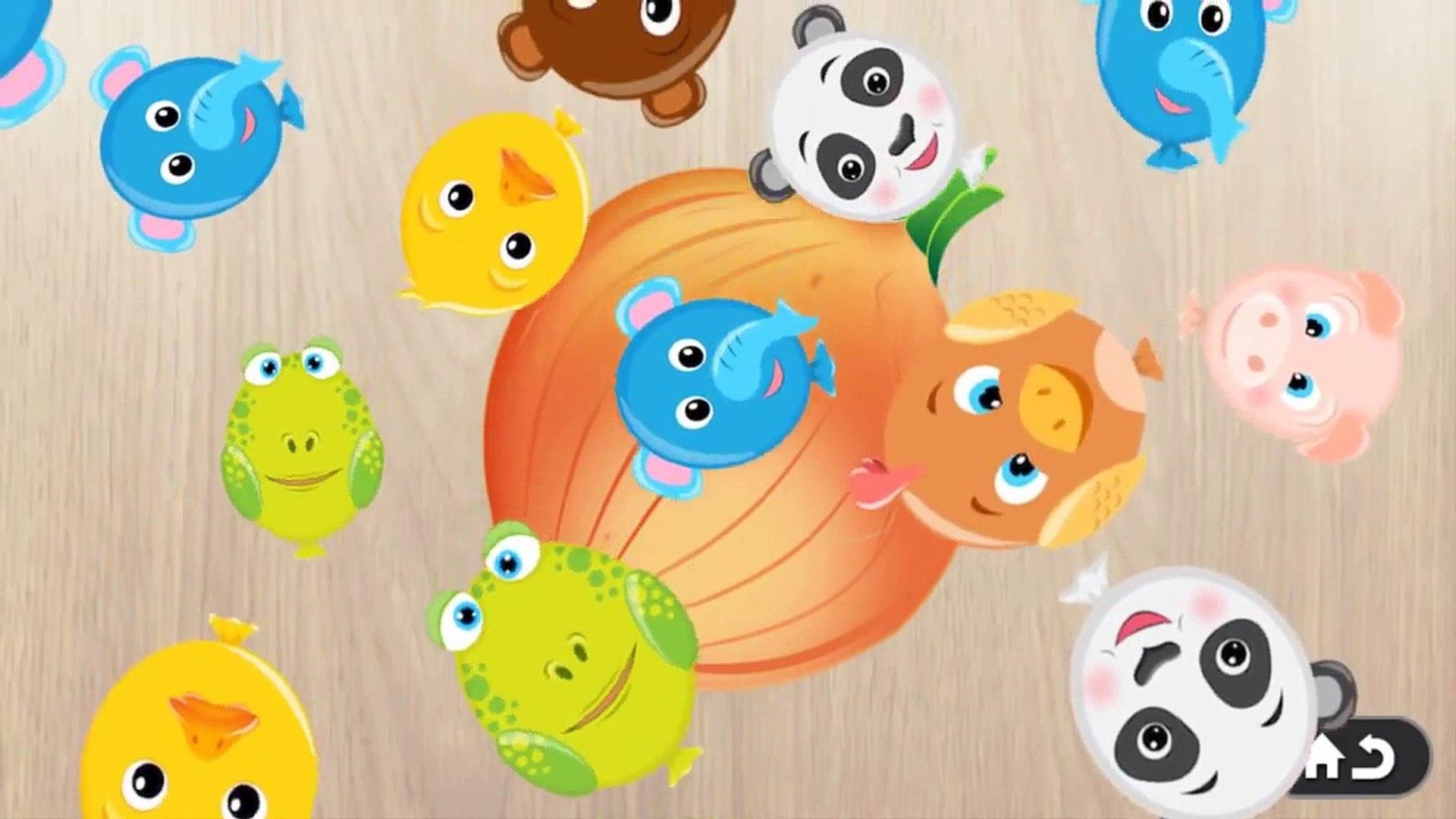 Food Puzzle for Kids   Education App Game video for Kids    kidsmamytv