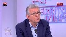 Pierre Laurent et son désaccord avec Jean-Luc Mélenchon sur le nucléaire