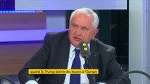 """Jean-Pierre Raffarin voit Macron """"porteur"""" de changement, """"jusqu'à ce qu'il soit dévoré par le PS"""""""