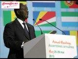 BAD : l'allocution du président ivoirien, Alassane Ouattara