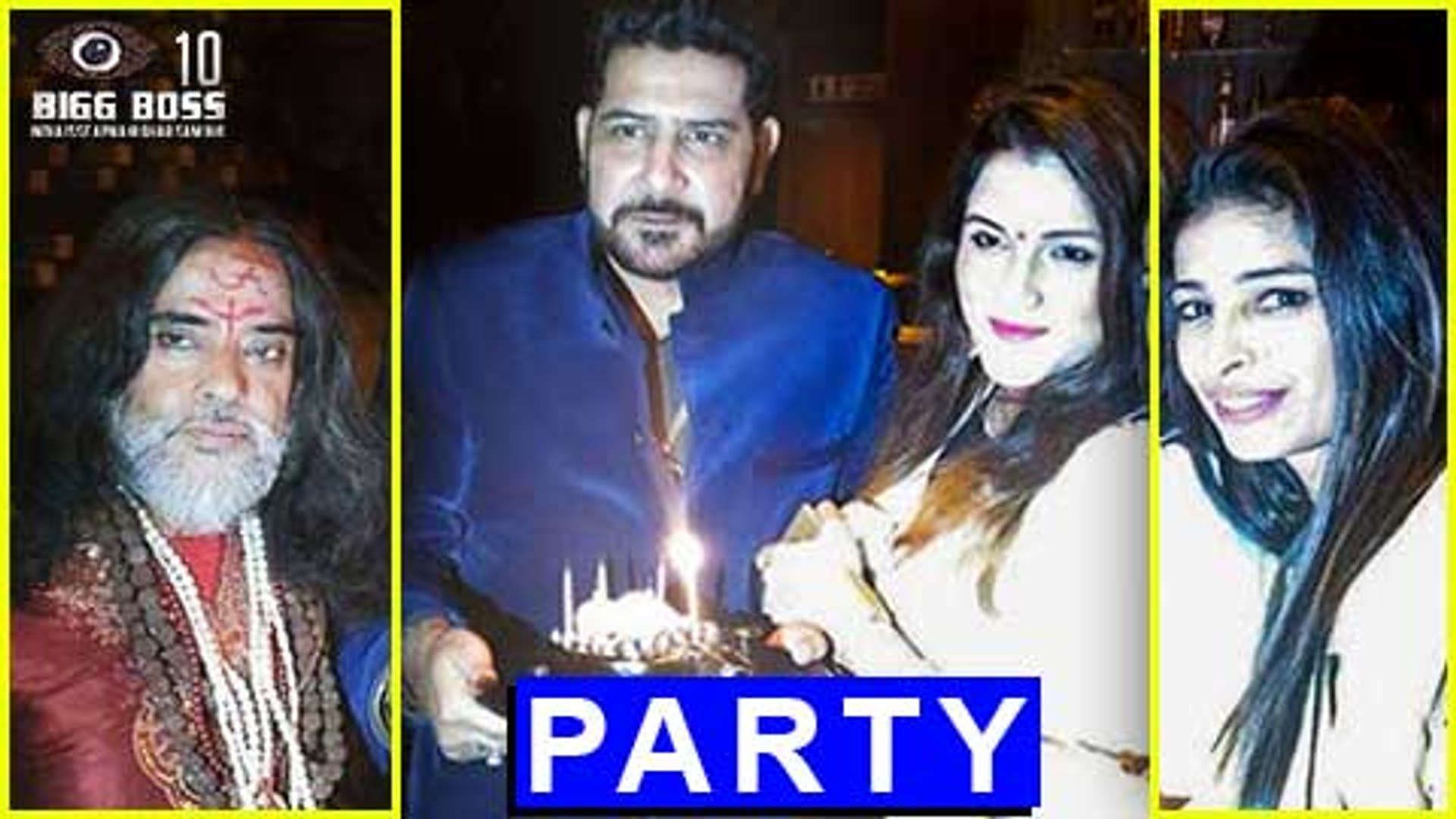 Swami Om & Priyanka Jagga PARTY TOGETHER  Bigg Boss 10