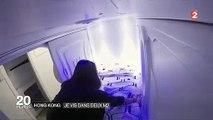 Hong Kong Des capsules de... 2 mètres carrés loués 350 euros par mois !