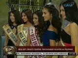 24 Oras: Ilang int'l beauty queens, nagsasanay ngayon sa Pilipinas