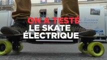 On a testé le plus léger des skates électriques