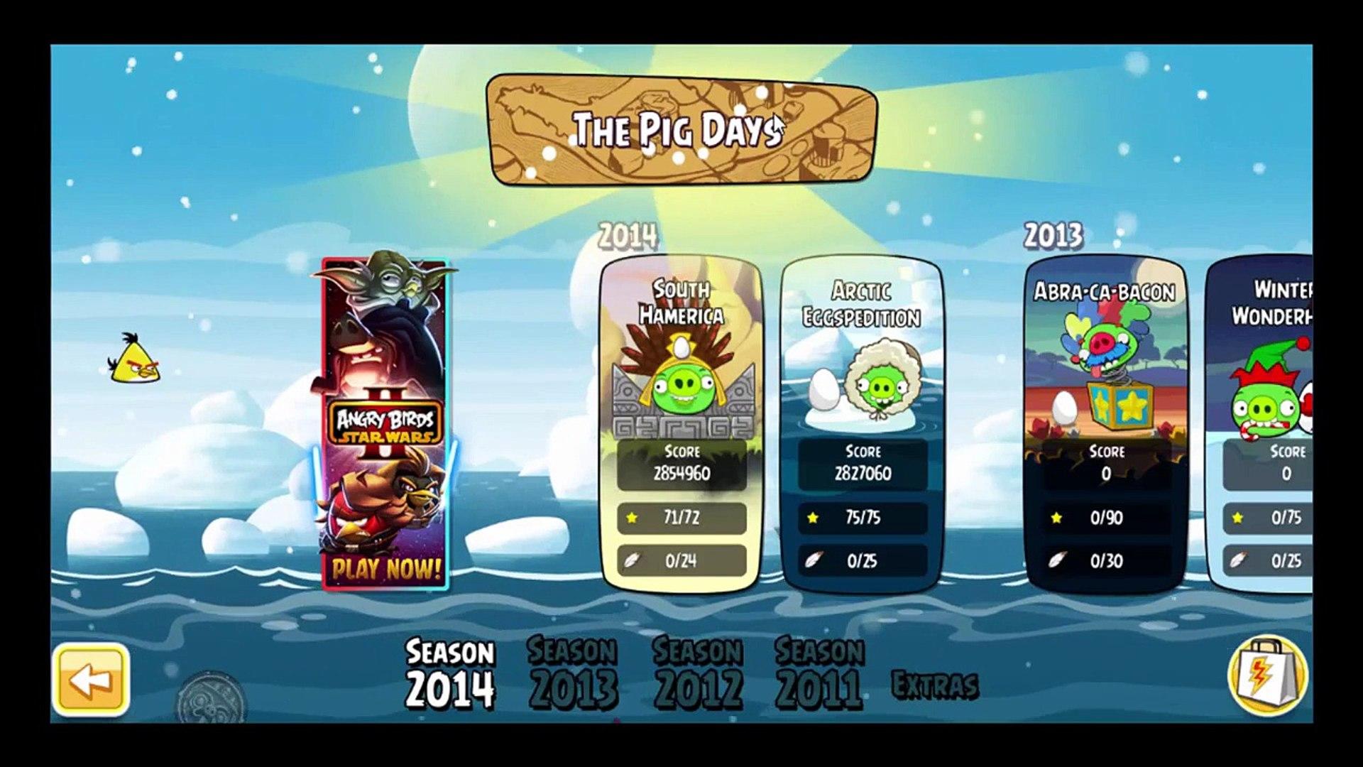 Angry Birds Hammier Things angry birds season: apollo moon landing anniversary | 3stars  gameplay&walkthrough