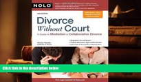 PDF [FREE] DOWNLOAD  Divorce Without Court: A Guide to Mediation   Collaborative Divorce TRIAL EBOOK