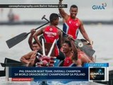 Saksi: Phl Dragon Boat Team, overall champion sa World Dragon Boat Championship sa Poland