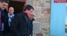 Lamballe. Manuel Valls giflé