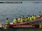 24 Oras: PHL army dragon boat team, nakakuha ng gintong medalya sa Italy