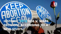 Study: US abortions now at lowest rate since 1974