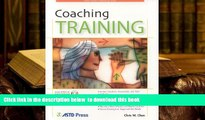 BEST PDF  Coaching Training (ASTD Trainer s Workshop Series) READ ONLINE