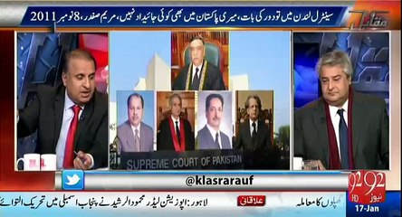 SC has already settled this immunity articles issue in Yousaf Raza Gillani's case - Rauf Klasra's analysis